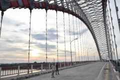 Akses jalan masuk Jembatan Musi VI Palembang diperlebar 700 meter